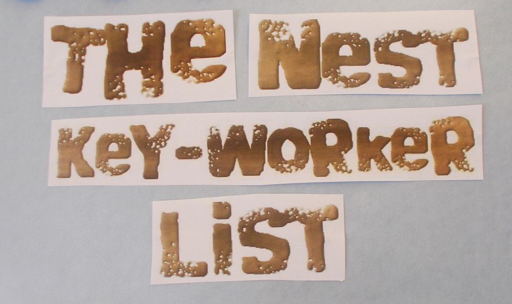 The Nest - Key Worker List