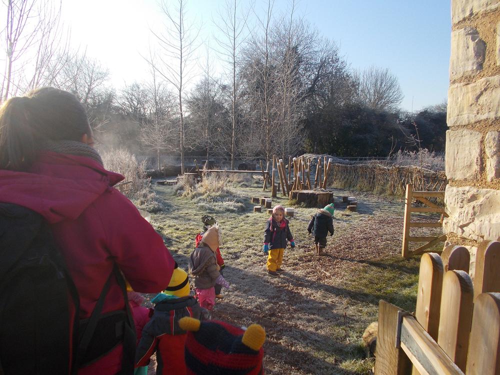 Exploring Winter in the Burrow