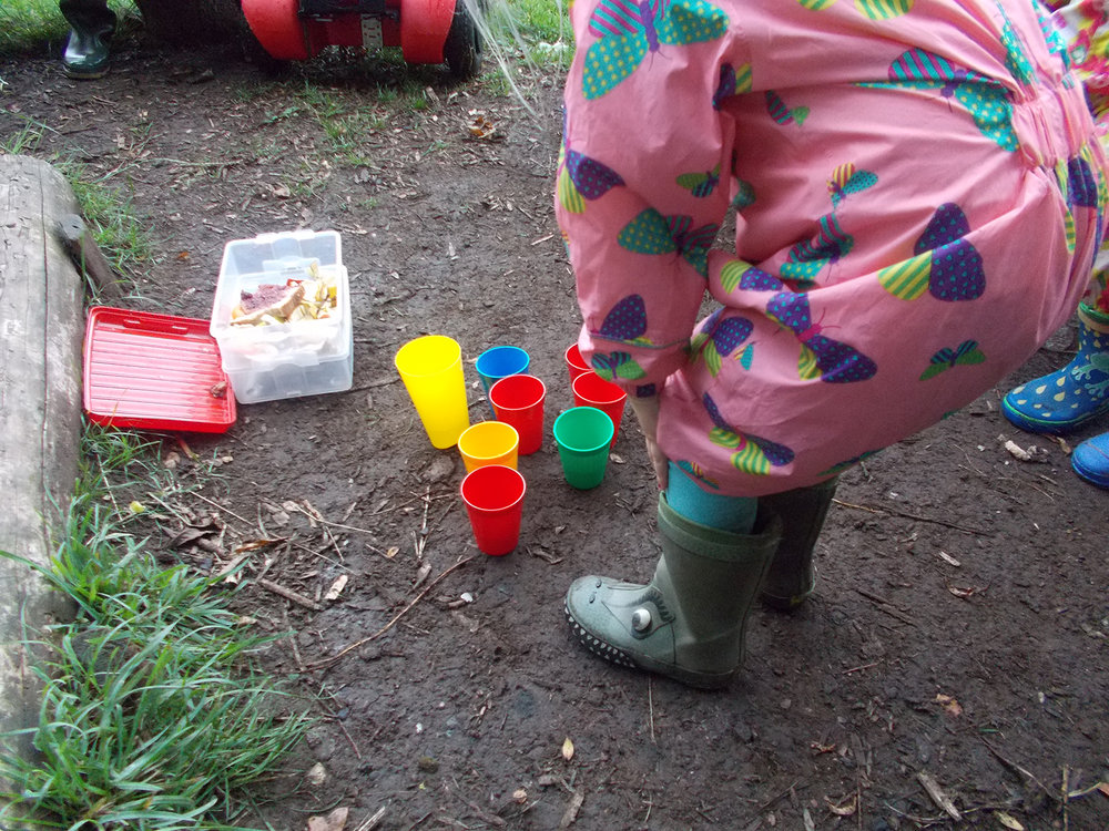 Our routines of Forest School