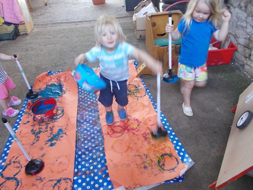 Messy play in the Burrow