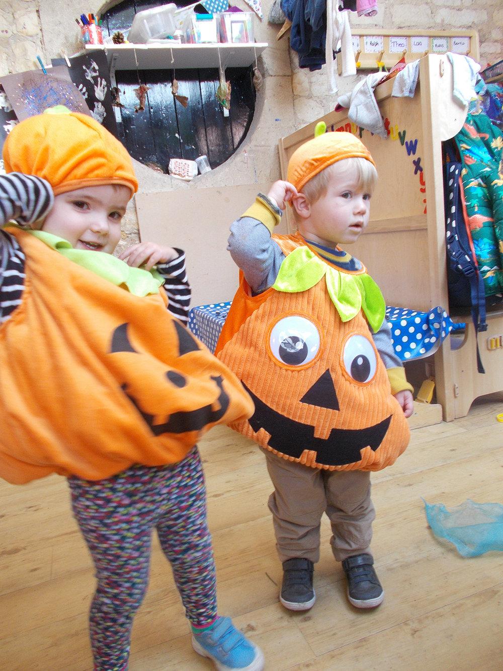 Halloween in the Burrow