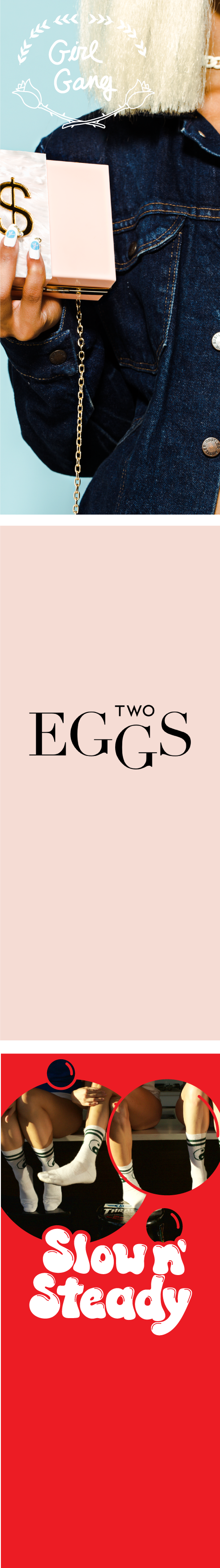 Two Eggs Road Trip Banners