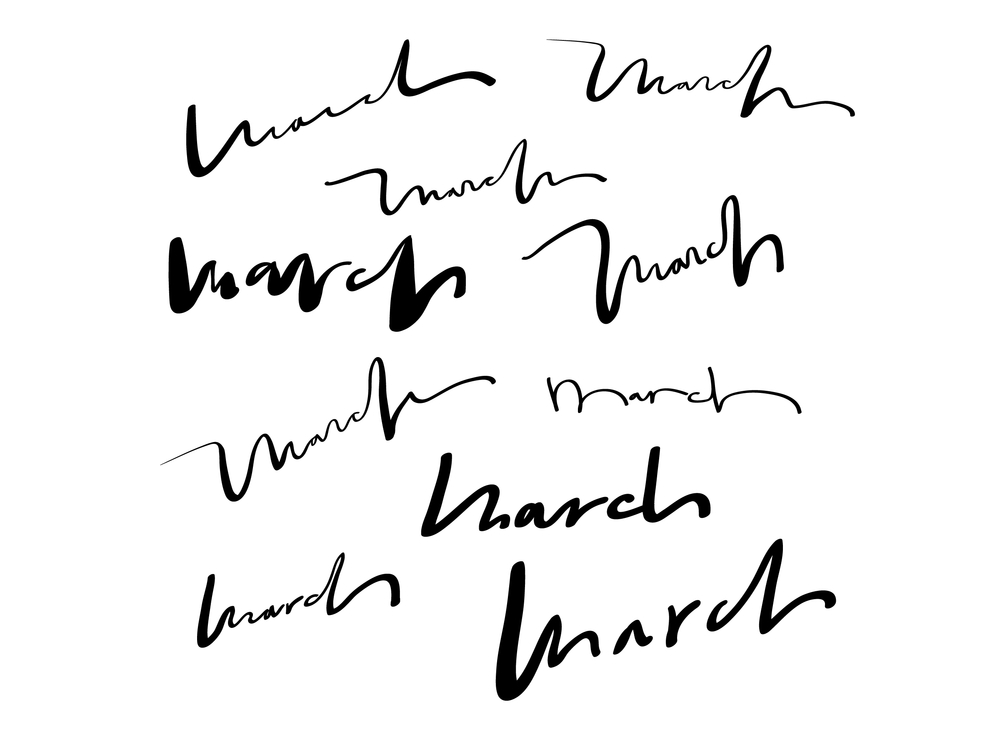 march-mars-brush-lettering-design-x-five