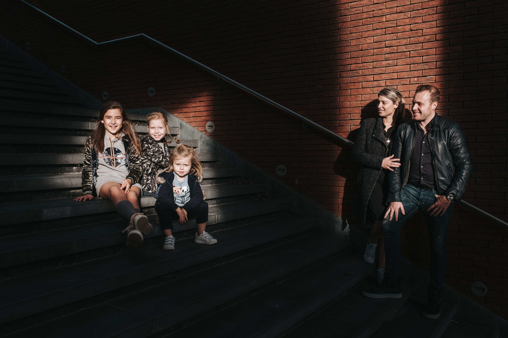 Sophie & Co  Familie urban setting
