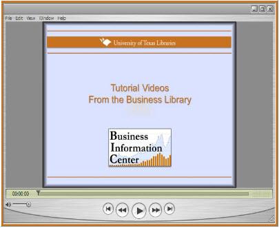 Business Database Video Tutorials