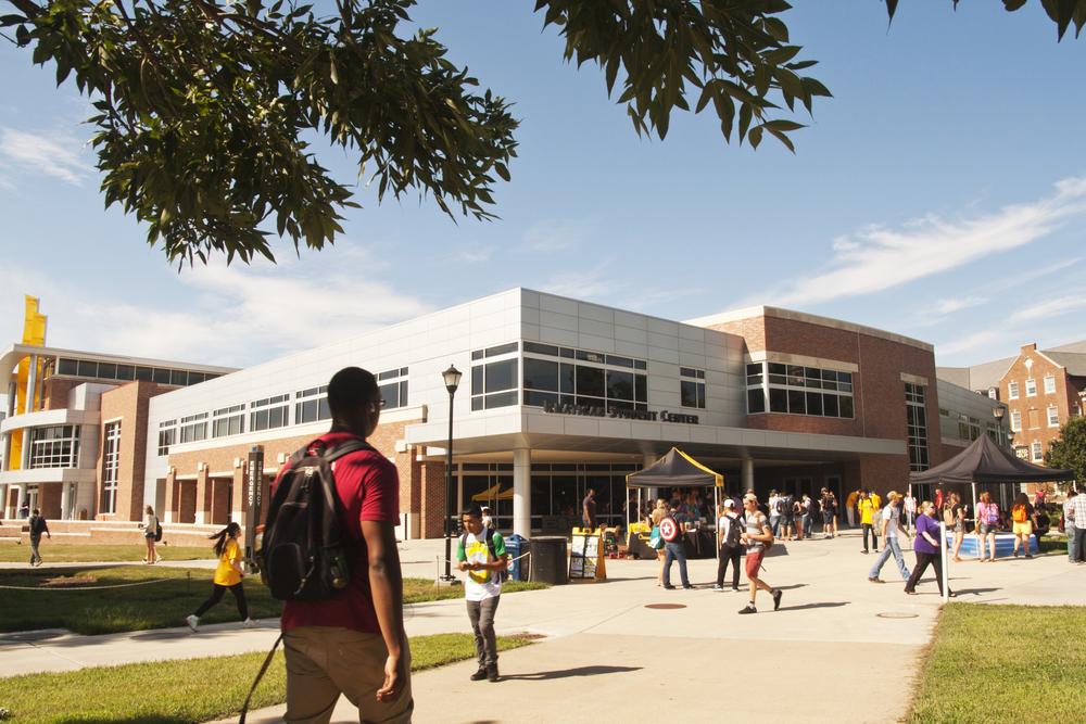 Wichita State University Rhatigan Student Center