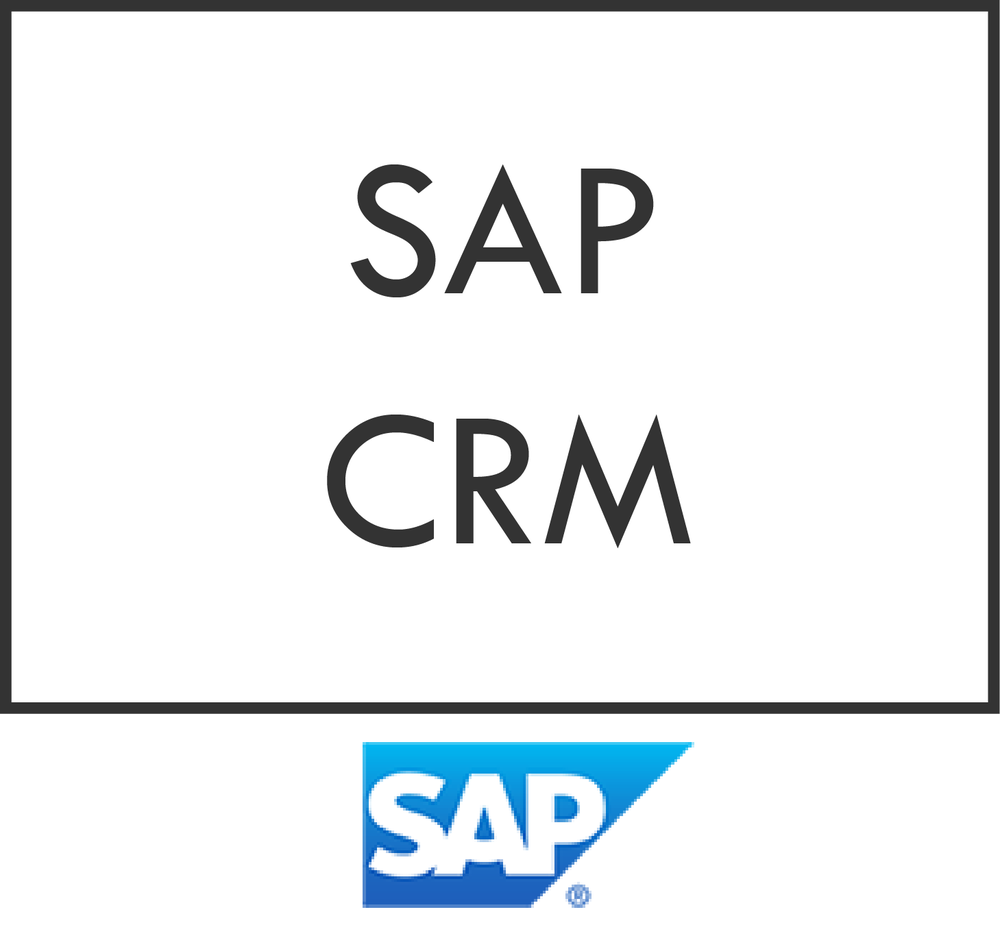 SAP CRM is the customer relationship management software suitable for business of every size and every industry.