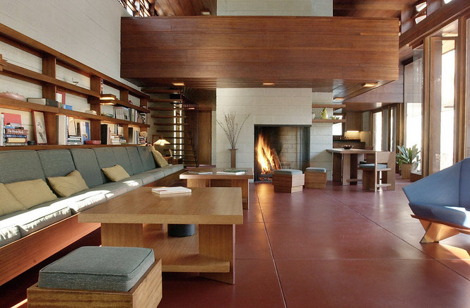Frank Lloyd Wright Interiors thoughts: frank lloyd wright interiors — selectively objective