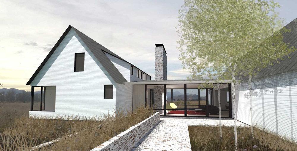 Final Digital Model - Jackson Hole Residence