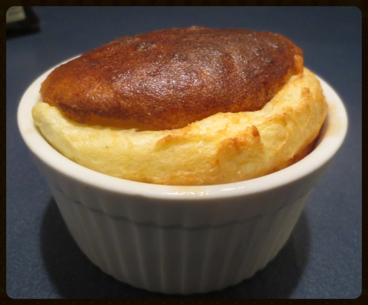 Comté and Asparagus Soufflé Cheese Souffle