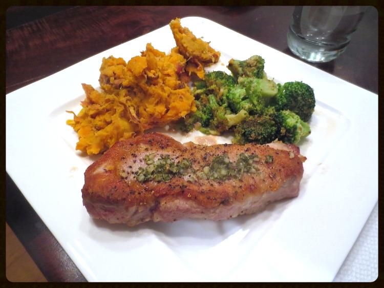 Pork Chops with Gremolata