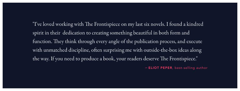 Book Design Testimonial