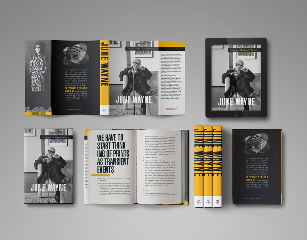 A book designer's main goal is to ensure that all elements of the book fit together in a seamless package.