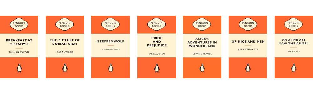 Jan Tschichold's designs for Penguin Classics