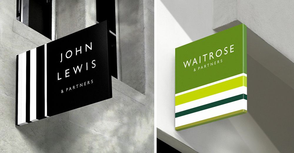 "Even Pentagram's recent ""rebrand"" of John Lewis & Partners features Gill Sans. This commentary on the thinking behind the work is truly absurd: ""Pentagram's reconstitution of the brand's past in terms of design details is most obvious with its logo design. Gill Sans is a typeface synonymous with John Lewis and so it appeared to be a unifying step to redraw it across all companies under the John Lewis Partnership. It was also a logical step as John Lewis already owned its own cut of the typeface but in terms of tone, 'Gill is kind of British, isn't it?' Harry suggests. 'I think that resonated with Waitrose, John Lewis and all of the John Lewis partnership. It just seemed to be that it was one of those things we wouldn't want to lose. It just seemed so natural. And, why change a good thing?'"""