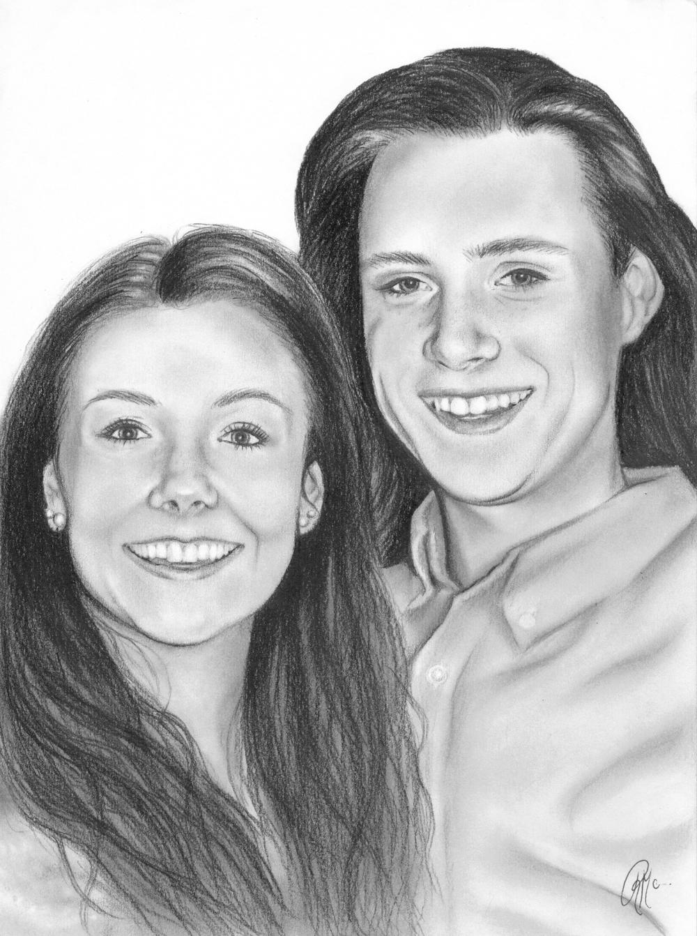 two subject portrait, custom couples portrait, pencil sketch portrait, realism art.jpg