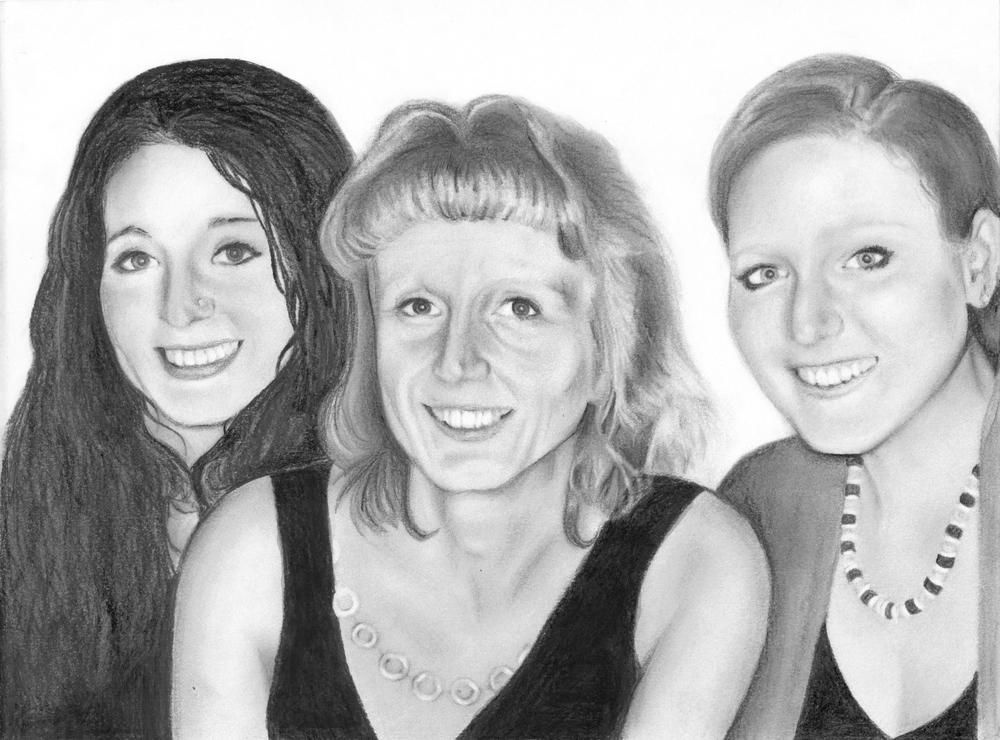 three subject portrait, custom family portrait sketch, custom pencil portrait.jpg
