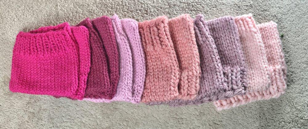 Bulky yarn pussyhat pattern