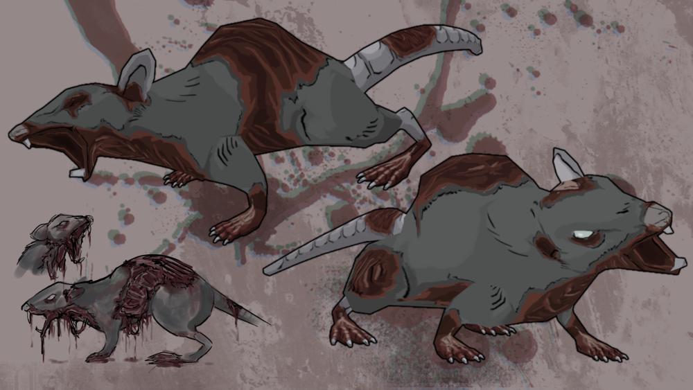 Zombie rats from The Fading