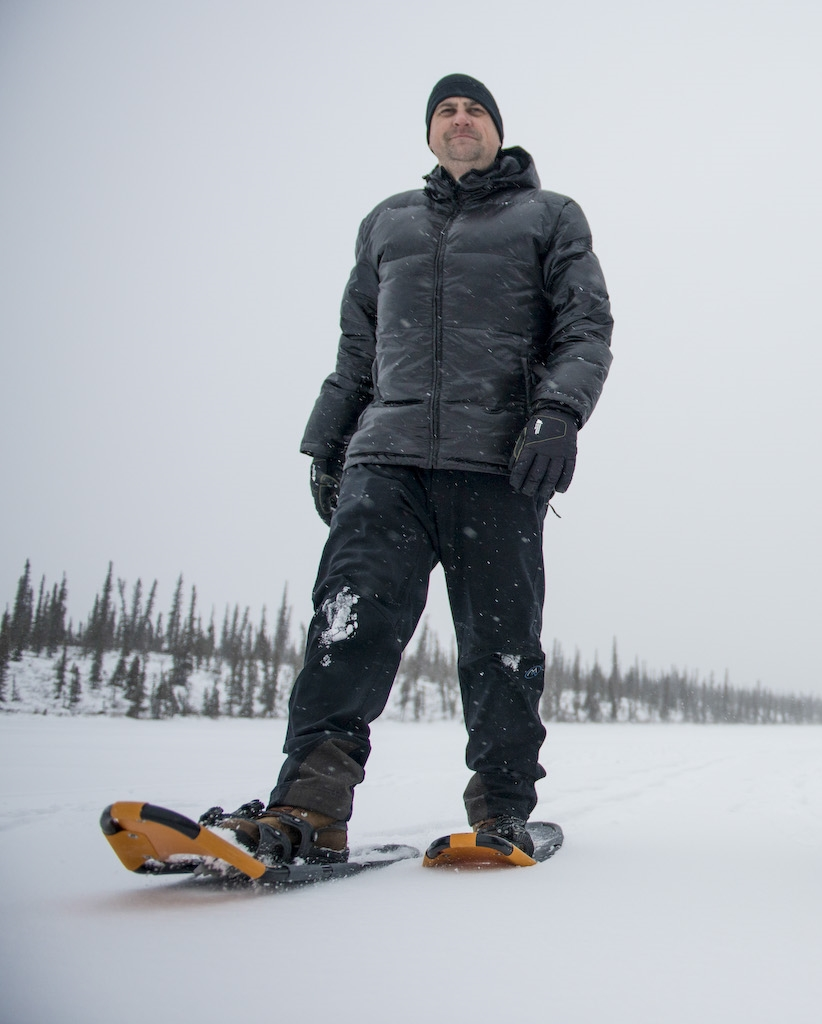 Snowshoeing, Northwest Territories, Canada
