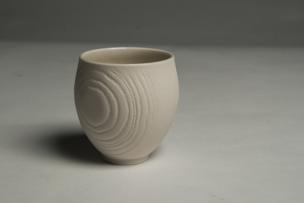 Porcelain Grain Cup