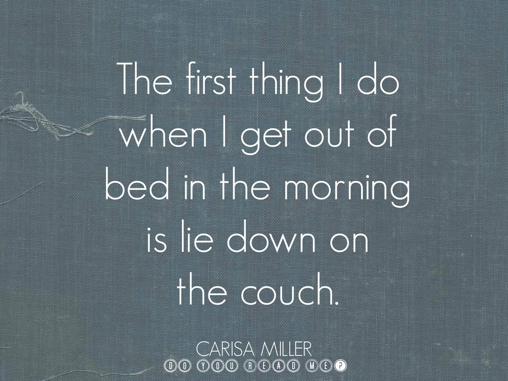 First Thing by Carisa Miller