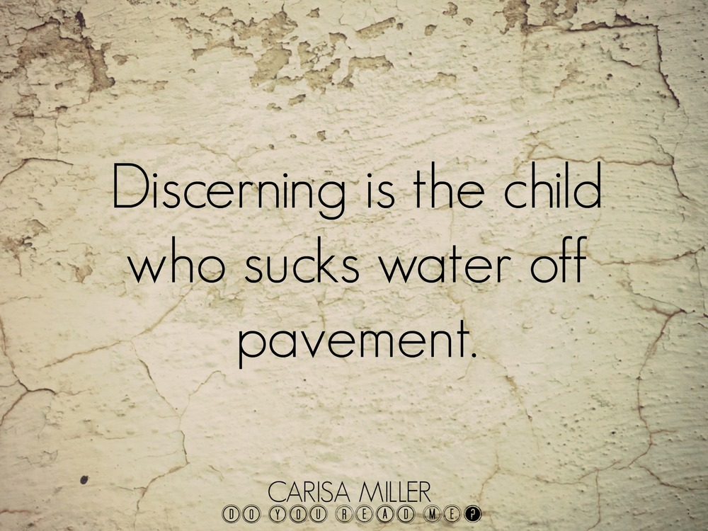Slurping Pavement by Carisa Miller