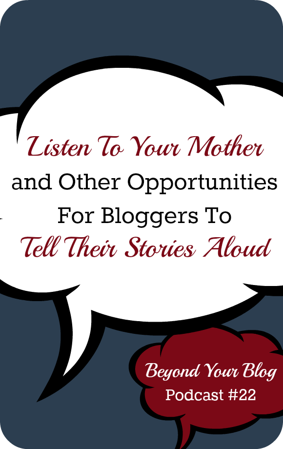 Listen To Your Mother Podcast Interview by Carisa Miller