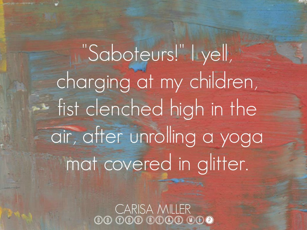 Saboteurs by Carisa Miller