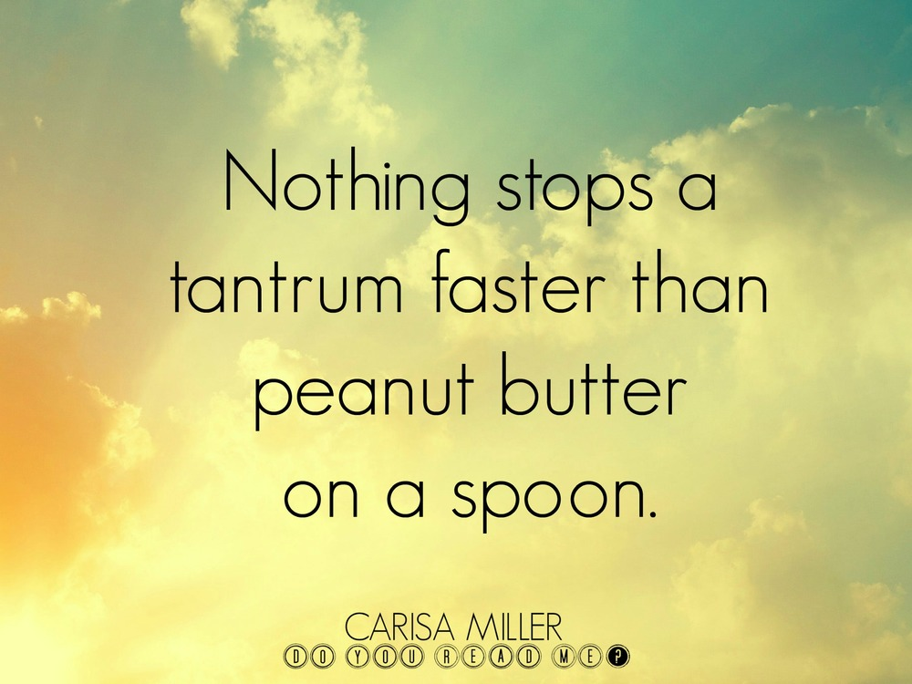 Peanut butter problem solver by Carisa Miller
