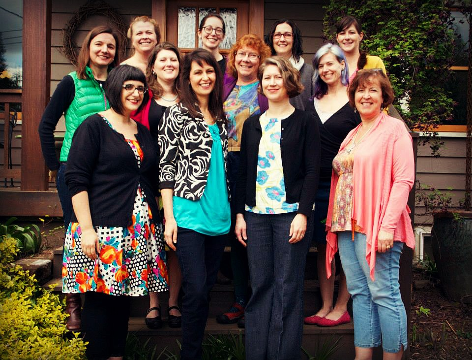 Portland's 2015 cast, top left to right: Noelle Guest, Michelle Borum, Kathryn Leehane, Carisa Miller Middle: Susan Domagalski-Fleming, Kylie Menagh-Johnson, Mary Mandeville, Kelli Martinelli Lower: Michelle Porter, Christi Krug, Gypsy Martin, Susan Moshofsky Not pictured: Nicole Rardin