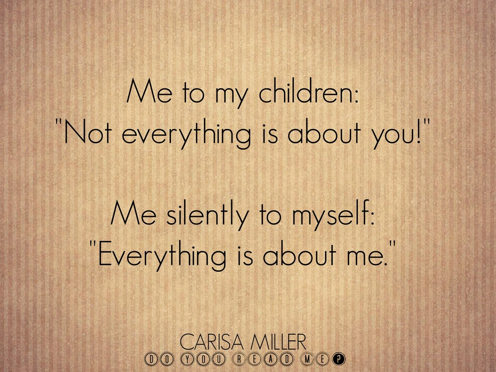 How it is by Carisa Miller
