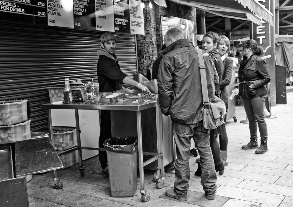 'Oh my goodness, it's a camera!' is a classic street photography moment.  - The Guardian