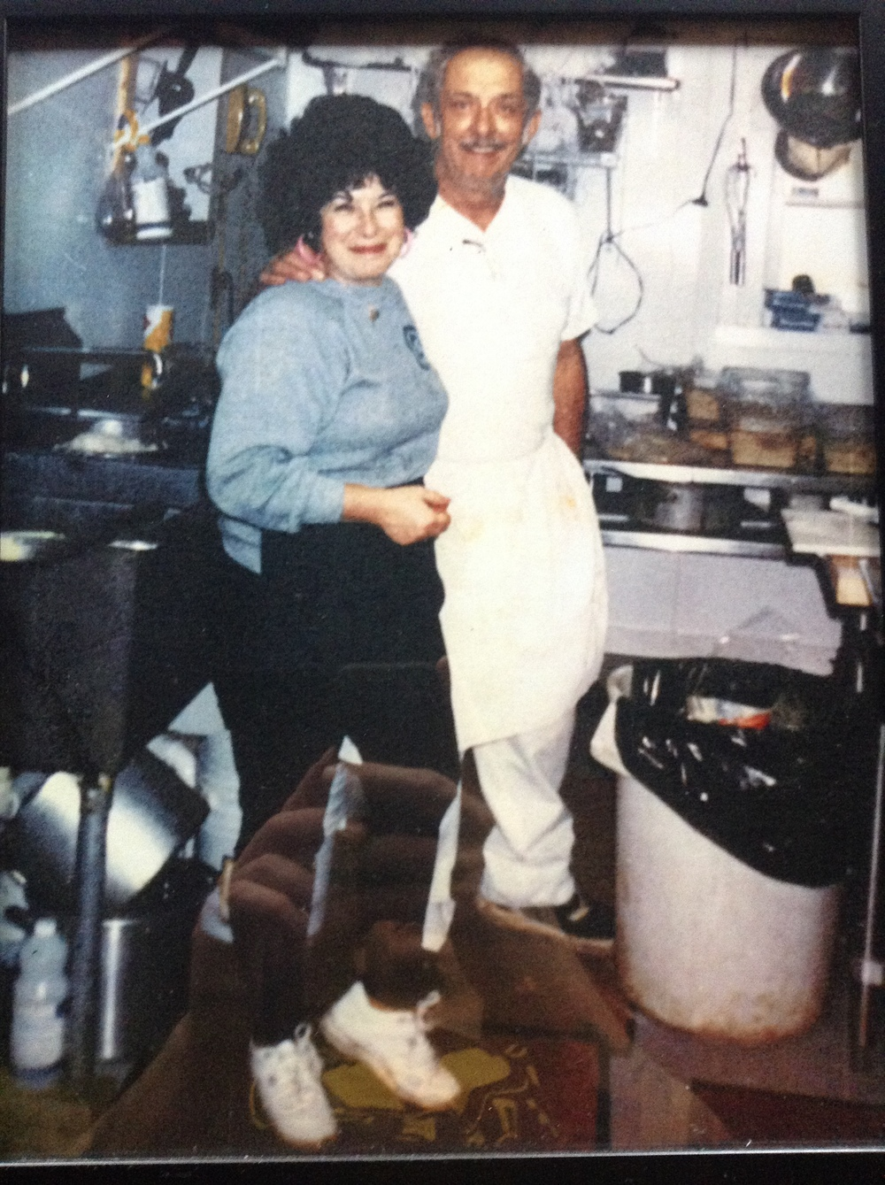 Lila and Jerry in 1989