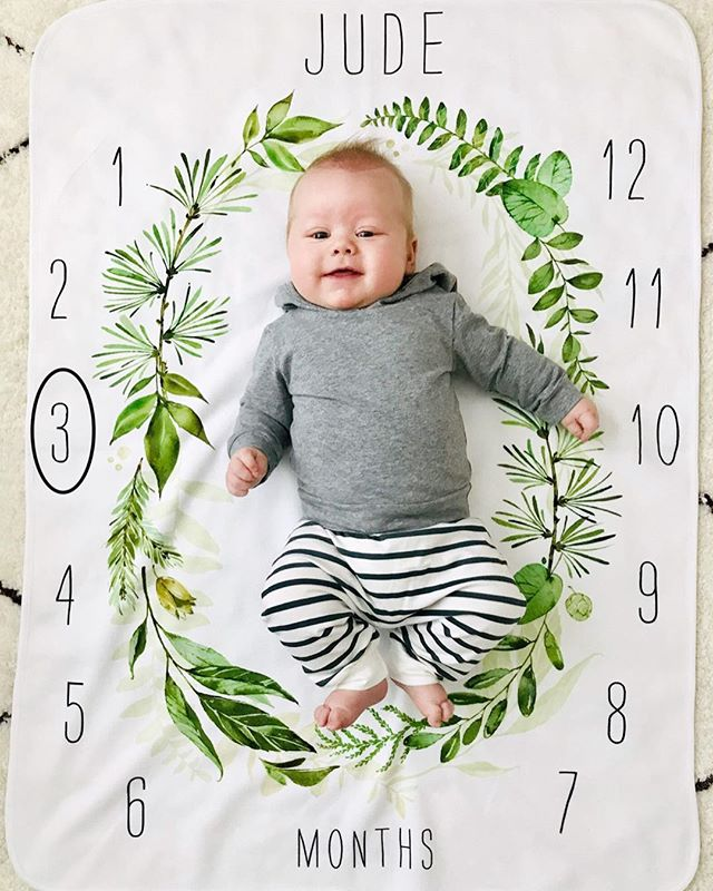 Three Months. It's been three months of absolute joy with our sweet boy. This little nugget is all rolls, laughs when we click or roll our tongues, talks to us, and has found his hands. #judeellington