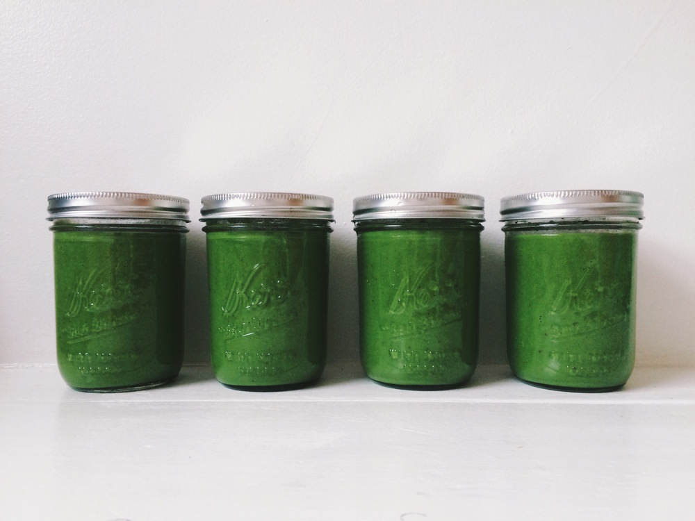 Running WIth Forks Green Smoothie