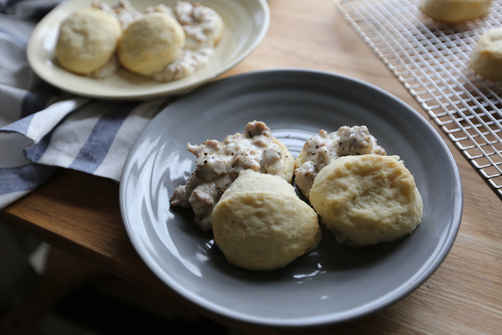 Running With Forks Biscuits and Gravy