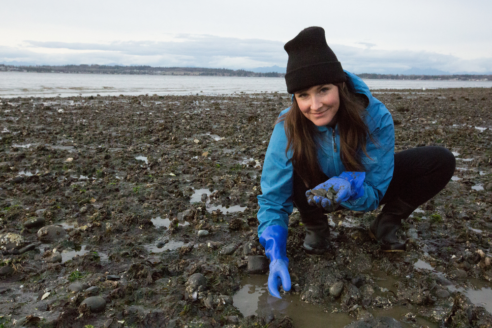 Running With Forks Kirsten McCormick PNW Clam Harvesting