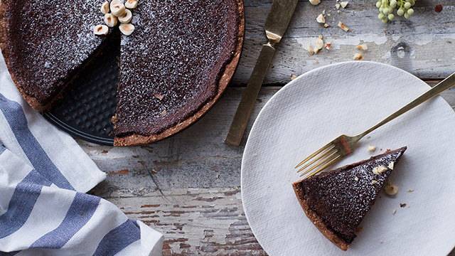 Running With Forks and Barre3 DIY Chocolate Pie