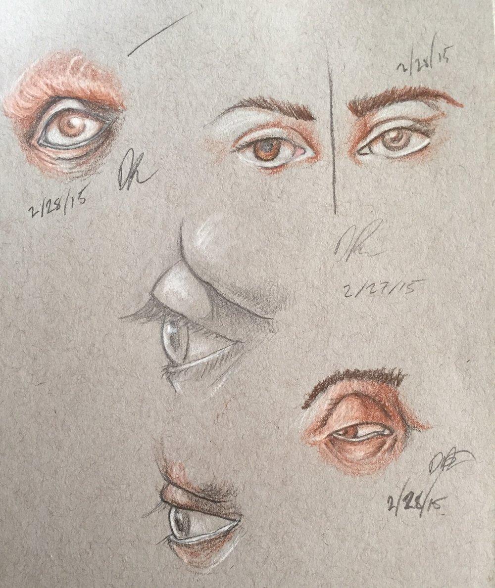 Eye page