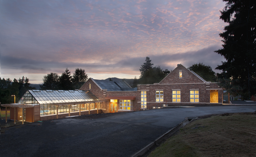 Hood River Middle School Music & Science Building  Opsis Architecture
