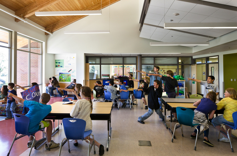 Roosevelt Elementary School Renovation and Addition in Medford, OR  Opsis Architecture
