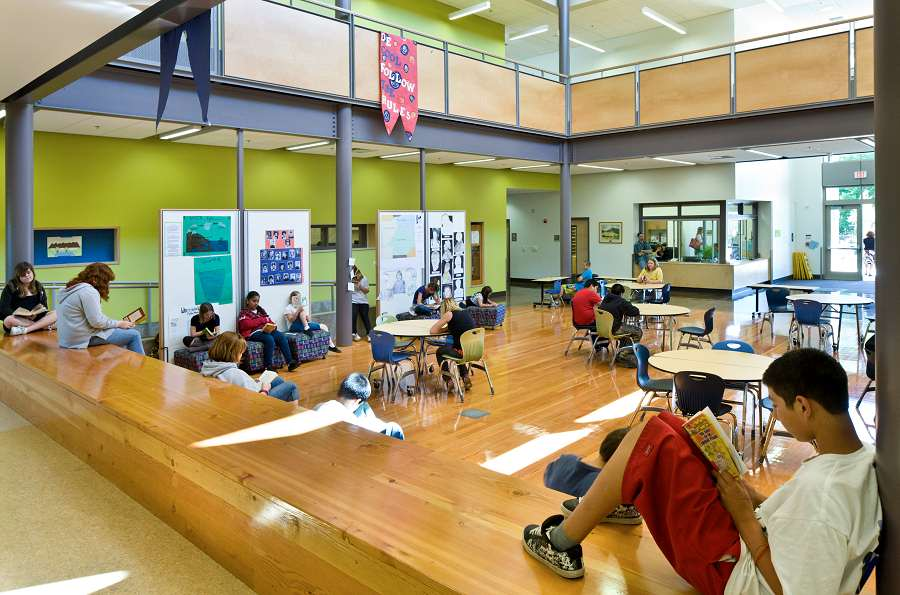 Roosevelt and Jackson Elementary School Renovation and Addition in Medford, OR  Opsis Architecture