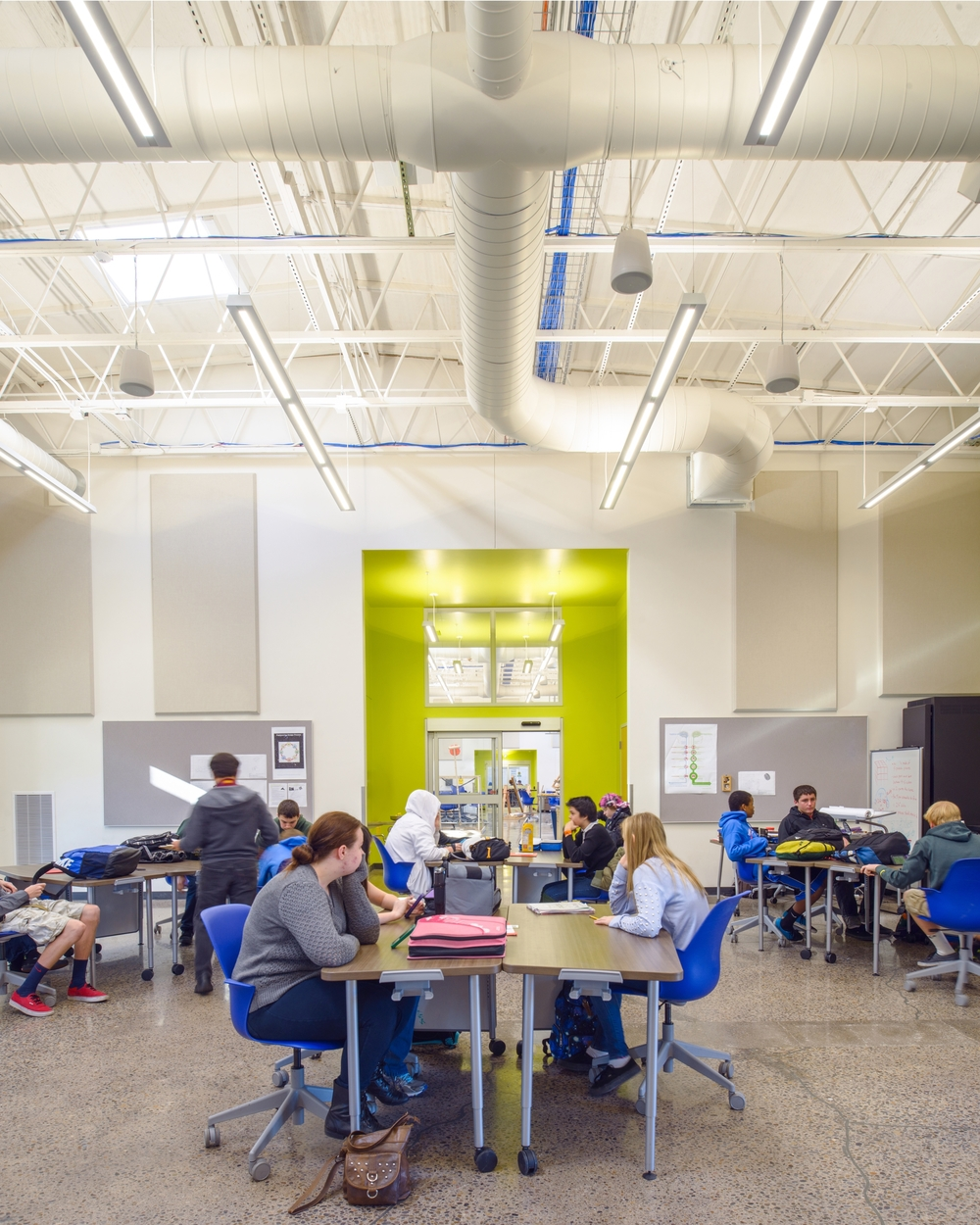 Eugene 4J STEM Remodel at Churchill High School  Rowell Brokaw Architects
