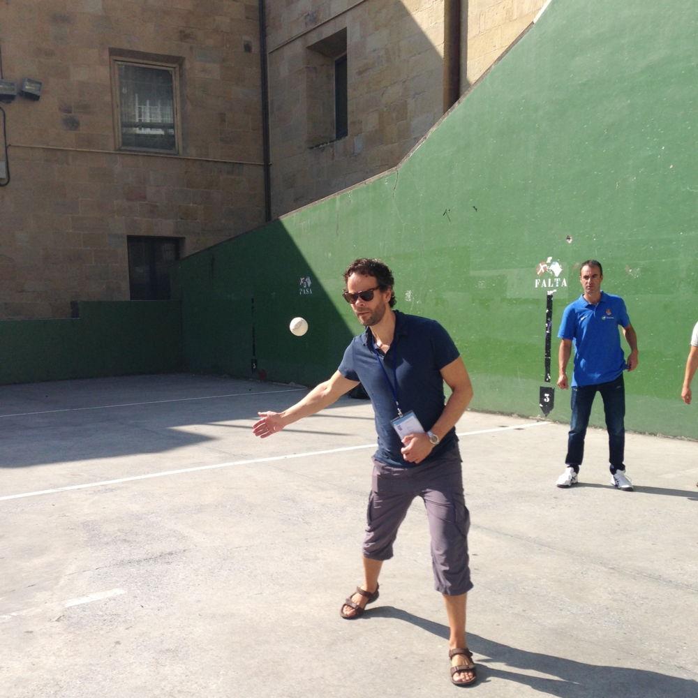 Pelota, Basque ball game