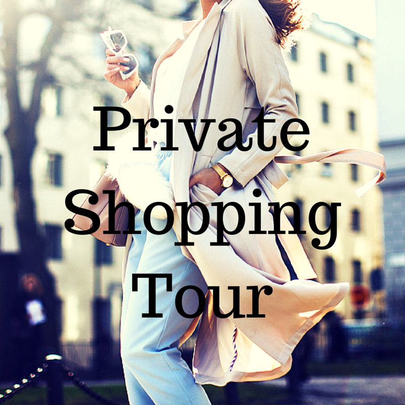 Private Shopping Tour