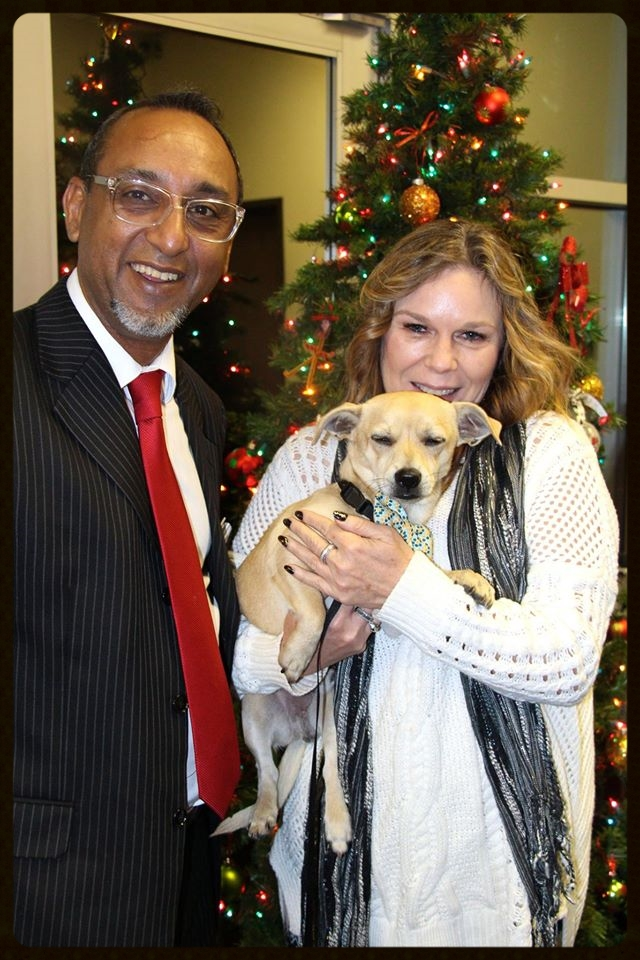 Dodger's Adoption Photo