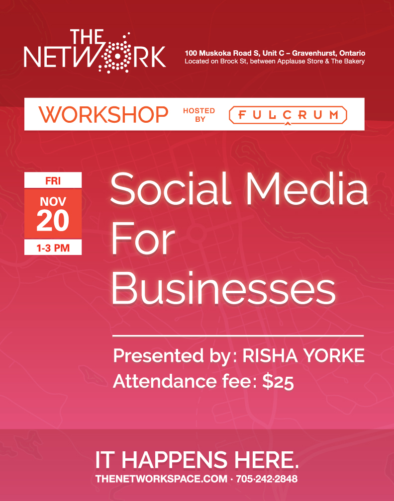 Workshop cover image: Social media for businesses