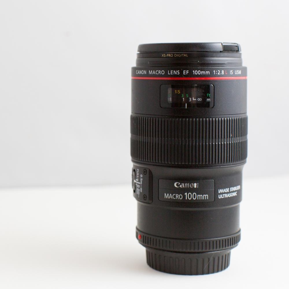 Canon EF 100mm 2.8L prime lens