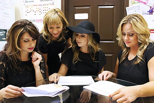 STACY MENTORS STYLISTS GOING OVER RETENTION